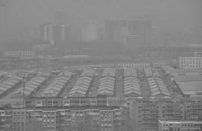 北京现今年来最严重沙尘天