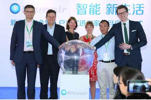 Blueair 空气净化器出智能产品