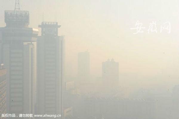 猴年大年初一 合肥空气质量严重污染(图)